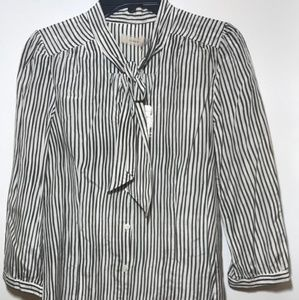 New Womens cluny  the neck botton down Shirt